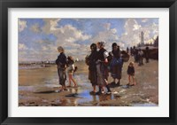 Framed Oyster Gatherers of Cancale
