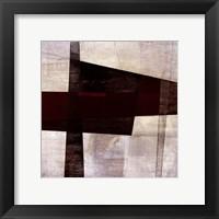 Longcut IV Framed Print