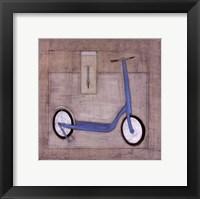 Scoot Framed Print