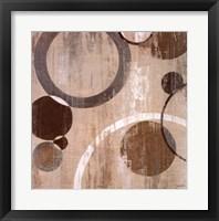 Orlando Mod Circles I Framed Print
