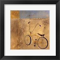 My Bike Framed Print