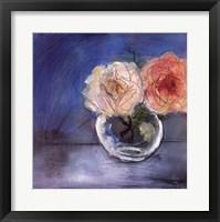 Framed Roses I