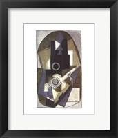Framed L'Homme a la Guitare, 1918