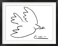 Dove of Peace Framed Print