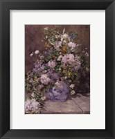 Framed Spring Bouquet, 1866