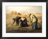 Framed Gleaners 1857