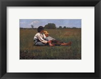 Framed Boys in a Pasture, 1874