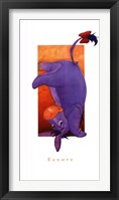 Framed Eeyore