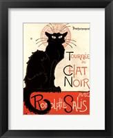 Framed Tournee du Chat Noir