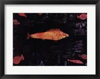 Framed Golden Fish, c.1925