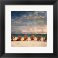 Framed Golden Beach