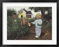 Framed Little Gardener
