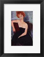 Framed Red-Headed Woman