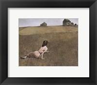 Framed Christina's World, c.1948