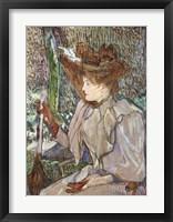 Framed Mme. Honorine P.
