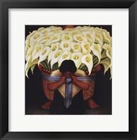 El Vendedor de Alcatraces Framed Print