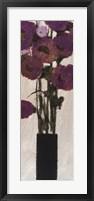 Framed Violet Joy