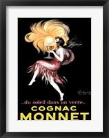 Framed Cognac Monnet, 1927