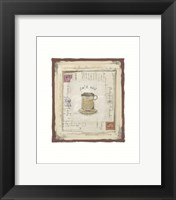 Cafe noir Framed Print