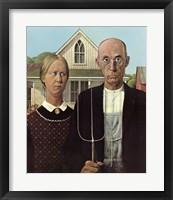 American Gothic, c.1930 Framed Print