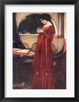 Framed Crystal Ball, c.1902