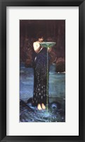 Framed Circe Invidiosa, c.1892