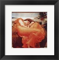 Framed Flaming June, c.1895