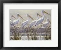 Framed Bounty of the Wetlands (detail)