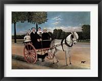 Framed Father Juniet's Cart