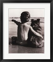 Framed Boy's Best Friend