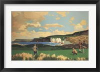 Framed Vintage Golf - Golf In Northern Ireland