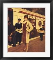 Framed Vintage Travel - Queen Of Scots