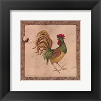 Framed Farmyard Bird II