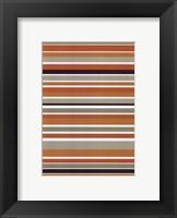 Framed Terracotta Stripes