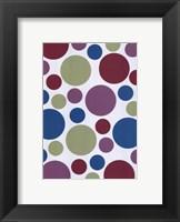 Framed Tutti-frutti Spots