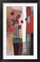 Framed Flowers at Home