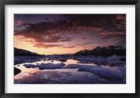 Framed St. Elias Mountains