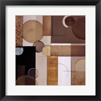 Spherical Movement I Framed Print