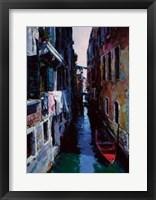 Framed Venice Morning