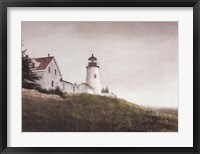 Framed Mist at Pemaquid Light
