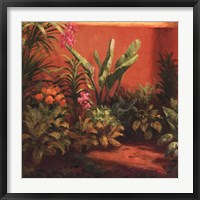 Framed Jardin Tropical