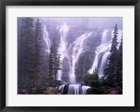 Framed Rocky Mountain Cascades