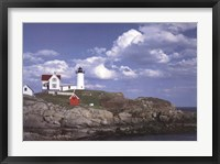 Framed Cape Neddick Light