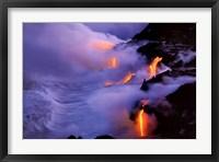Framed Twilight Fire