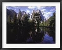 Framed Sierra Reflections