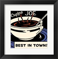 Framed Cup'pa Joe Best in Town