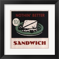 Framed Sandwich
