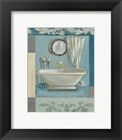 Antique Bath II Framed Print
