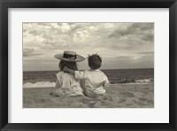 Framed Two Children