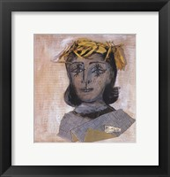 Head of Dora Maar Framed Print
